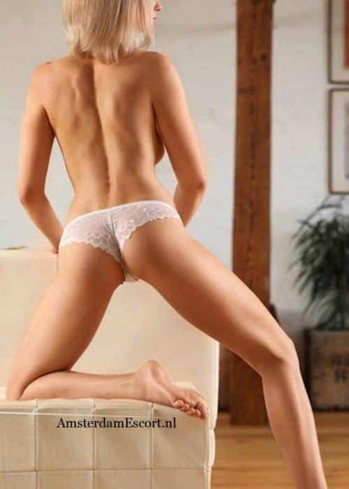 Ivanka Standing Topless in White Panties.