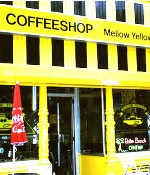 Mellow Yellow Coffee Shop In Amsterdam