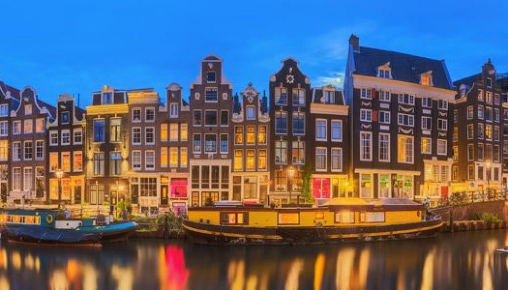 Amsterdam Wide Shot